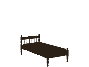 Beds, pedestals, prams and cots